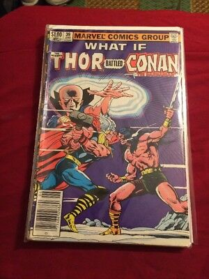 What If Thor Battled Conan #39? Newsstand Version A Must Read [marvel]