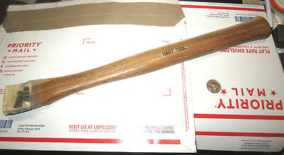 """Vintage Very Good Quality Hart Tool Co. Hickory Hammer Hatchet Handle 18"""""""