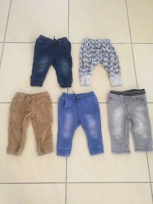 Baby boys size 0 bulk lot of jeans & pants Sprout, Bonds, tilt etc