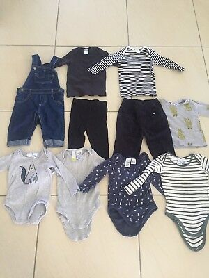 Baby boys size 1 winter bulk lot