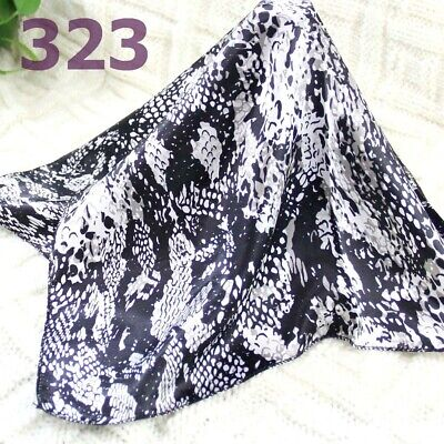 Office Women Ladies Elegant Small square Scarves Silky Office Kerchief Scarf 128
