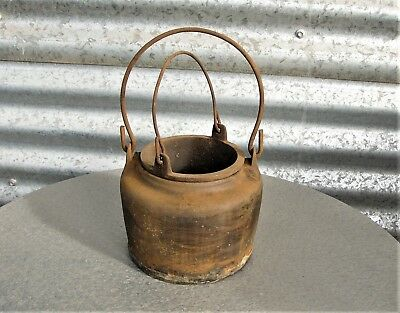 Antique Cast Iron glue pot