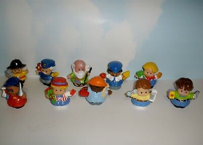 Fisher Price Little People  Male Figures  10 Assorted  set 4