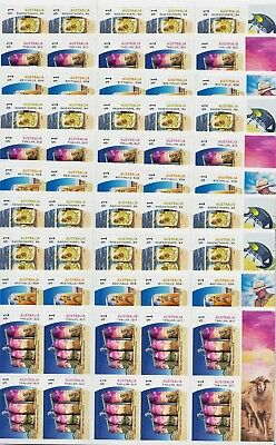 $1 X 100 Australia  Postage Stamp - Brand New Self Adhesive - Face Value $100