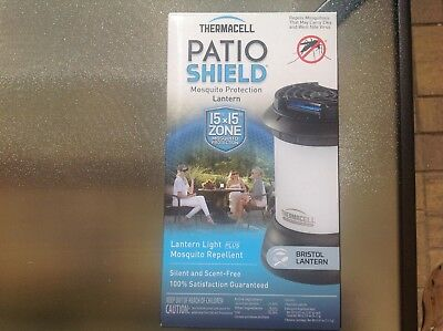 New ThermacellMR-9SB Patio Shield BristolMosquitoRepeller With Lantern