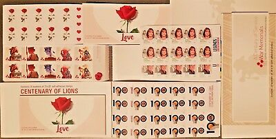 $1 X 110 Australia  Postage Stamps Brand New Self Adhesive - Face Value $110 )