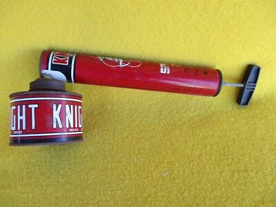 Vintage Insect Sprayer Knight Indian Fly Aphid Garden Pest Pump Insecticide Bugs