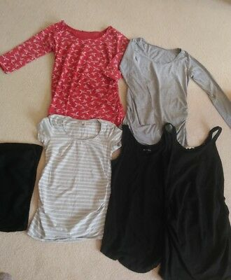 Maternity tops bundle size 8 Autumn bump band