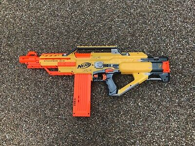 job lot of 8 NERF guns , books, bullets , vest and other accessories