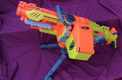 Nerf Havok Fire Vulcan Ebf -25 Machine Gun