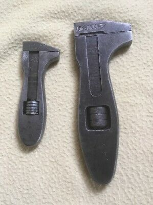Pre-owned Vintage King Dick Adjustable Girder Wrench X 2