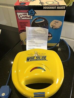 The Simpsons Donut Maker