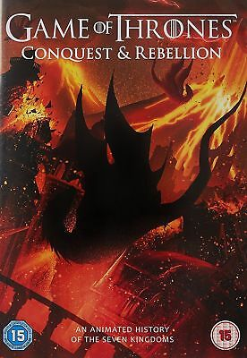 Game of Thrones Season 7 The Complete Seventh 7th Series[DVD + Conquest & Rebel]