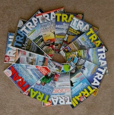 Trail Walking Magazines 2016 - Jan 16 to Dec 16 inclusive of spring edition