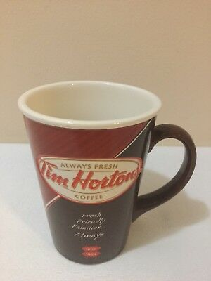 Tim Horton's 14 oz Limited Edition # 012 Ceramic Coffee Mug 2012 Always Fresh