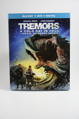 Tremors: A Cold Day in Hell [Blu-ray] Brand NEW w/ Slipcover Canadian Release