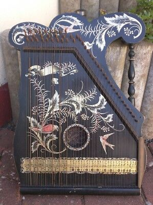 Alte Zither Alte Zitter Angelo American