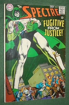 The Spectre! #5 DC Comics Silver Age Neal Adams cover and art vg