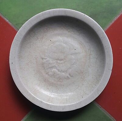 Large antique chinese celadon song dynasty plate