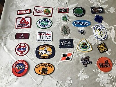 25 miscellaneous mixed company/sporting/novelty patch lot/group 4-14-03