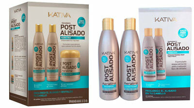Kativa Keratin & Argan Oil Set