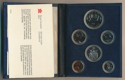 CANADA: 1981 Proof-like Set with Certificate