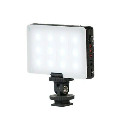 Vlogging Light Equipment Accessories Video On Camera LED Dimmable Portable NEW
