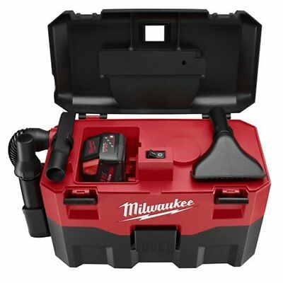 Milwaukee Wet Dry Vacuum CORDLESS M18 Lithium Ion 18 Volt Vac Cleaner Tool Only
