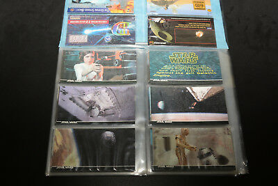 Star Wars Topps 3di A New Hope Widevision Card Set  1-63 plus Promo Cards
