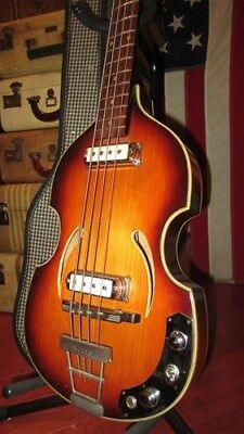 Vintage Original Klira Twen Star Hofner 500/1 Beatle Bass Electric Bass Guitar