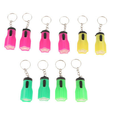 CARTOON FLAMINGO LED FLASHLIGHT SOUND KEYCHAIN KEY RING BAG HANGING PENDANT OPUL