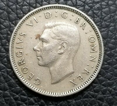 1948 Great Britain One Shilling Coin King George VI [SC1704]