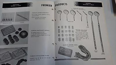Vintage Dental Products Catalogue Dentist Illustrated By Premier Dental Supplies