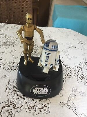 Star Wars C3PO and R2D2 Talking Coin Bank Collectible