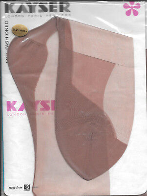 Vintage Kayser seamed , fully fashioned point heel stockings.