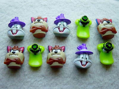 Lot of 10 Warner Bros. Looney Tunes Halloween Light Covers for Miniature Lights