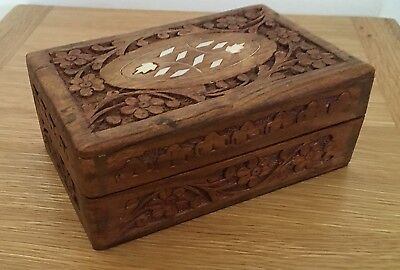 Antique/vintage Wooden Jewellery/  Box
