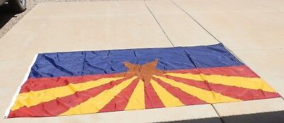 Arizona State Flag, Commercial Grade, 6' by 10', all nylon