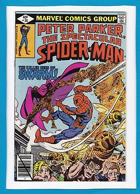 Peter Parker, The Spectacular Spider-Man #36_November 1979_Vf/nm_Swarm!