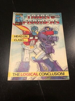 Marvel UK Transformers G1 Issue Number 40 Dec 1985