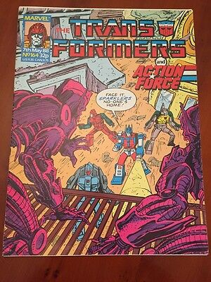 Marvel UK Transformers G1 Issue Number 164 May 1988