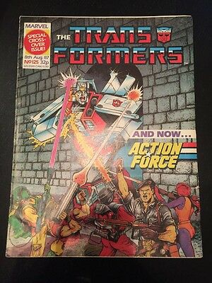 Marvel UK Transformers G1 Issue Number 125 August 1987