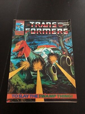 Marvel UK Transformers G1 Issue Number 48 Feb 1986