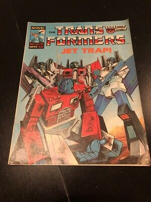 Marvel UK Transformers G1 Issue Number 44 Jan 1986