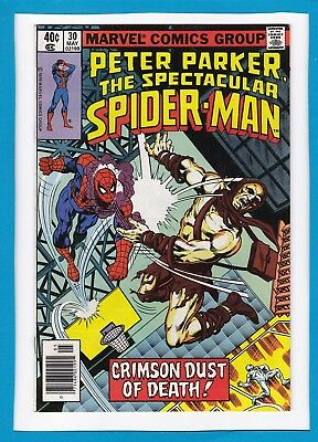 Peter Parker, The Spectacular Spider-Man #30_May 1979_Very Fine+_Bronze Age!