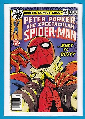 "Peter Parker, The Spectacular Spider-Man #29_April 1979_Vf Minus_""dust To Dust""!"