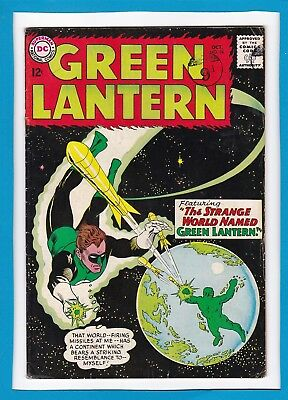 "Green Lantern #24_Oct 1963_Ungraded_""strange World Named Green Lantern""_Dc!"