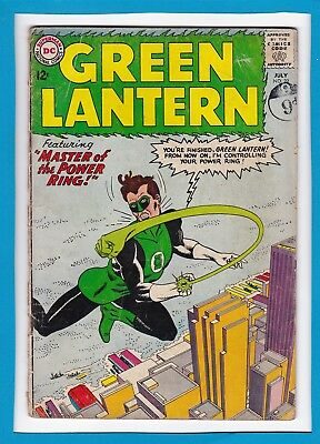 "Green Lantern #22_July 1963_Ungraded_""master Of The Power Ring""_Silver Age Dc!"