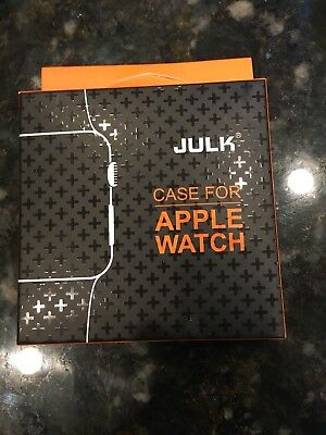 JULK ~ Case For Apple Watch Series 3 Protector Smart ~ 42mm New In Box