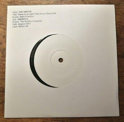 The Smiths - There Is A Light That Never Goes Out White Label Test Pressing 2011